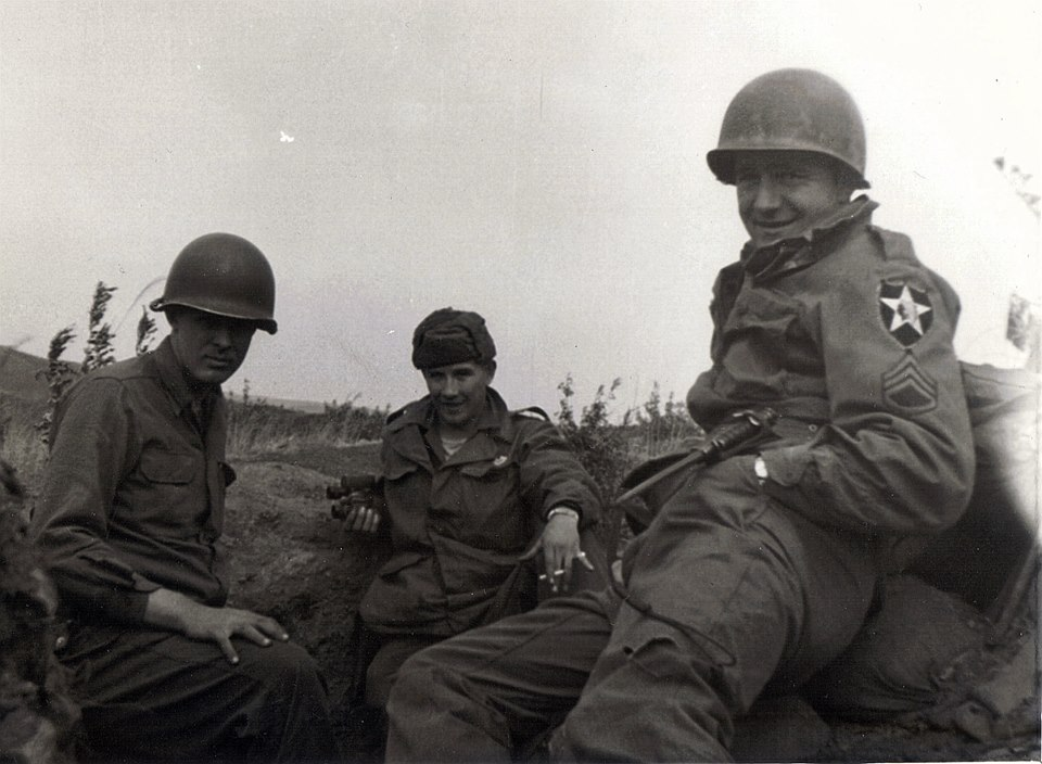 My favorite Vet! My dad (on the right), who served as a Sgt. in the Army during the Korean War.